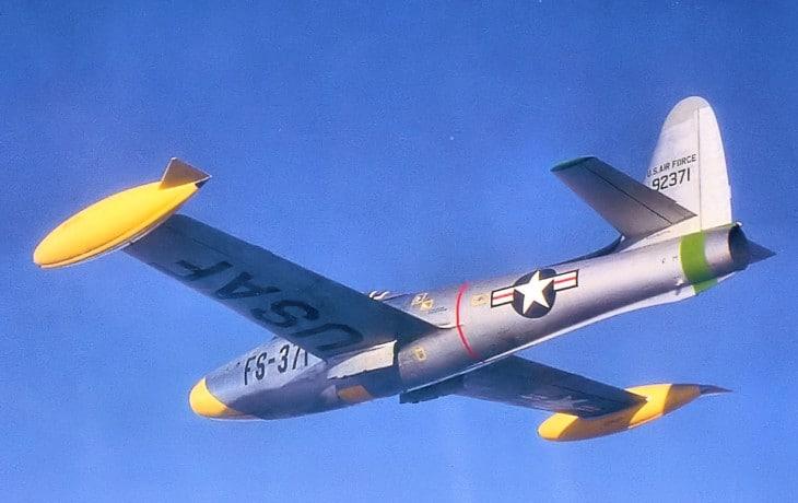 512th Fighter Bomber Squadron Republic F 84E 15 RE Thunderjet
