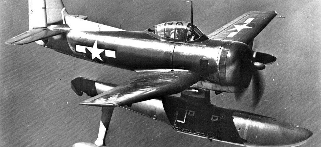 A U.S. Navy Curtiss SC 1 Seahawk BuNo.35299 in flight.