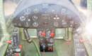 Chance Vought F4U 4 Corsair cockpit