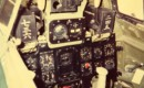 Cockpit of Mitsubishi A6M Zero
