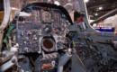 Cockpit of a Republic F 105 Thunderchief.