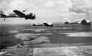 Curtiss AT 9 Jeeps Three Ship Formation. 1943