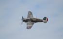 Curtiss P 36 Hawk in flight.
