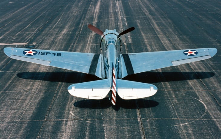 Curtiss P 36A Hawk at the National Museum of the United States Air Force.