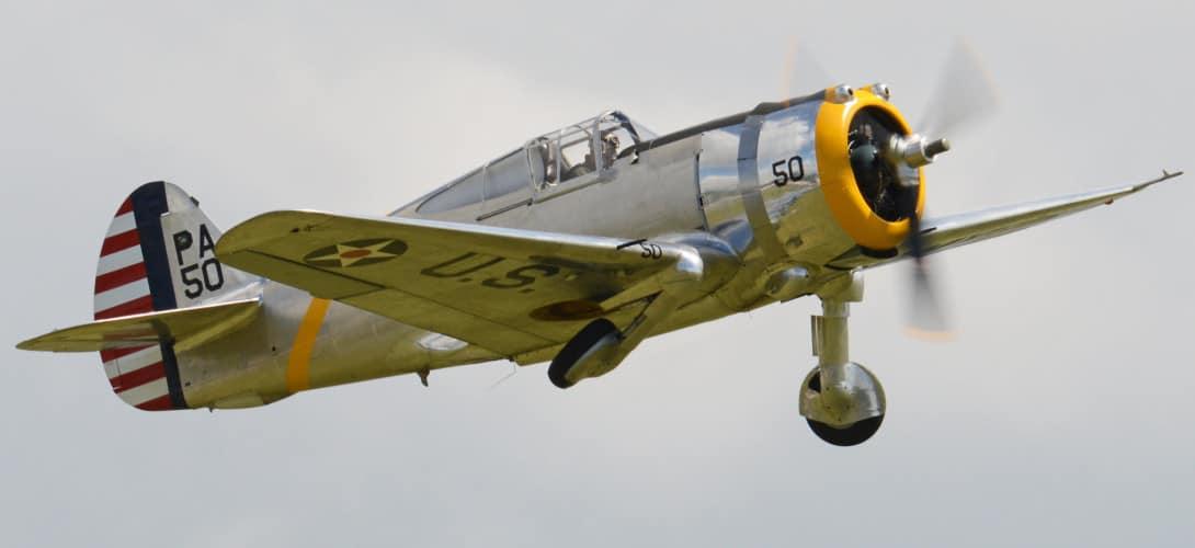 Curtiss P 36C Hawk 'PA 50.