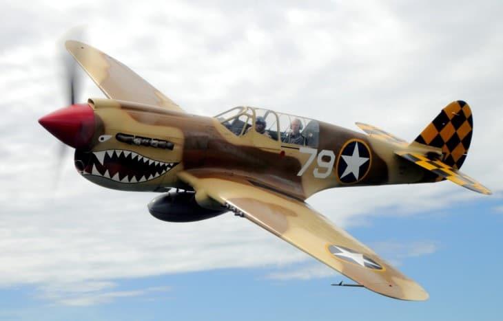 Curtiss P 40 Warhawk 1