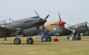 Curtiss P 40 line up. P 40B P 40F P 40N