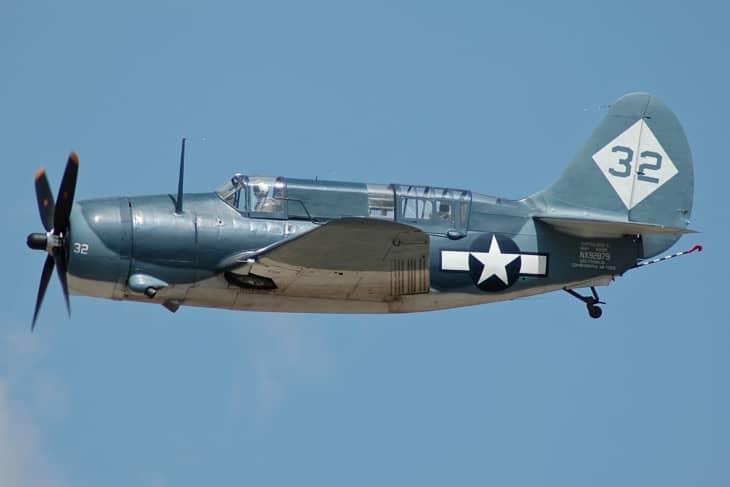 Curtiss SB2C Helldiver Commemorative Air Force