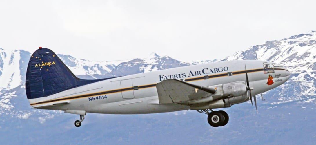 Everts Air Cargo Curtiss C 46D