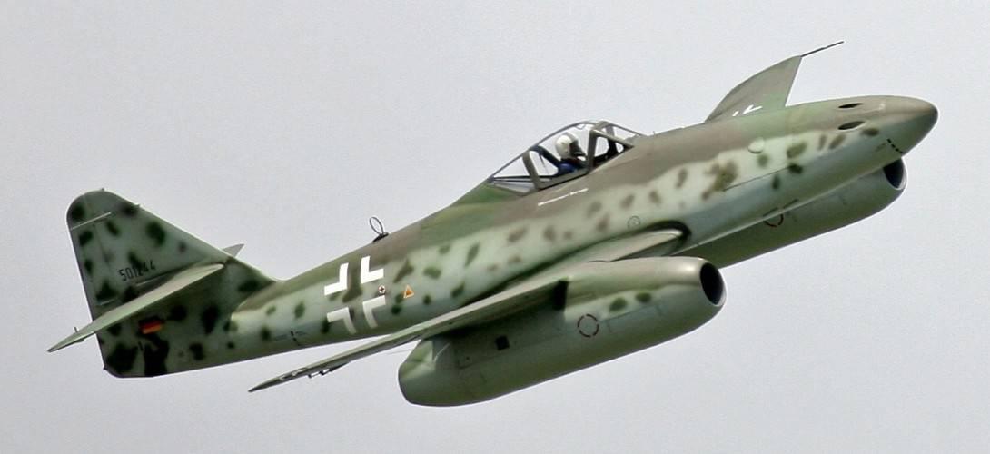 Messerschmitt Me 262 at ILA 2006.
