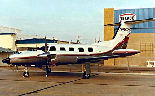 Piper Cheyennne 400LS Chuck Yeager N400PS