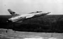 Republic F 105B 6 RE SN 54 0111 takes off.
