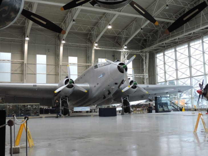 Savoia Marchetti S.M.82 in the Vigna di Valle Air Force Museum
