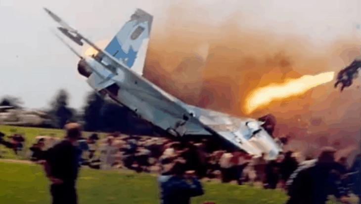 Sknyliv Air Show Disaster in Ukraine