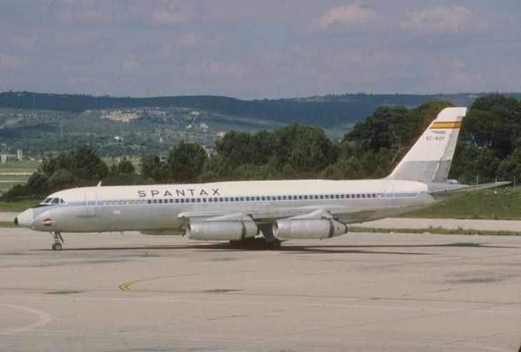 Spantax Convair 990 Coronado