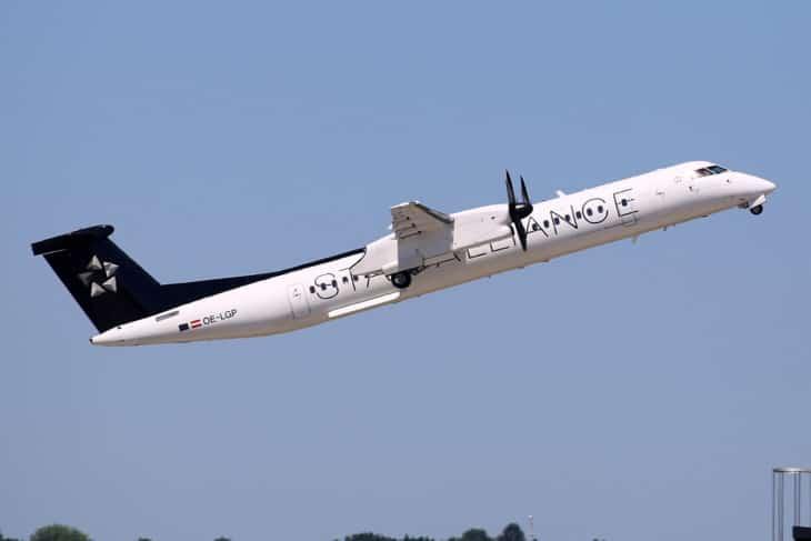 Star Alliance Bombardier DHC 8 402 Q400