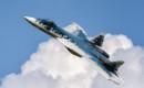 Su 57 T 50 4 multi role fighter in flight.
