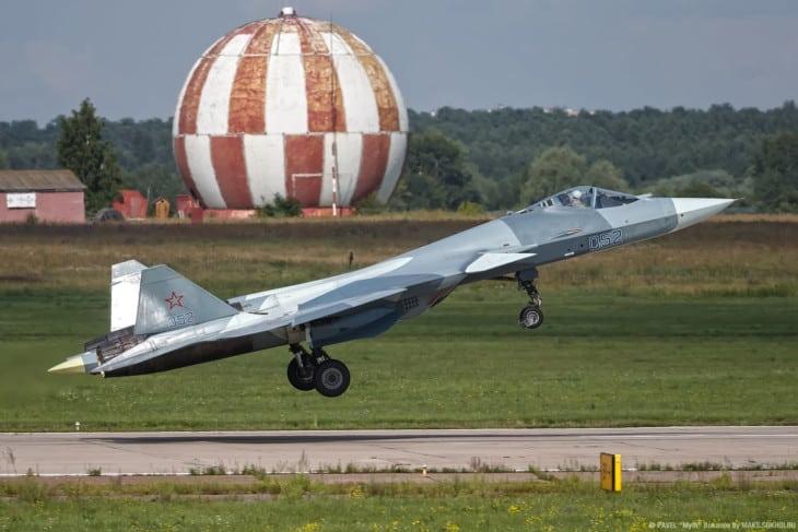 T 50 PAK FA T 50 2 Su 57 Take off