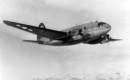 The Curtis C 46 Commando in flight.
