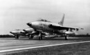 Three Republic F 105B 20 REs getting ready for take off.
