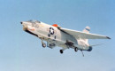 U.S. Navy Vought RF 8A Crusader of Photographic Reconnaissance Squadron 63.