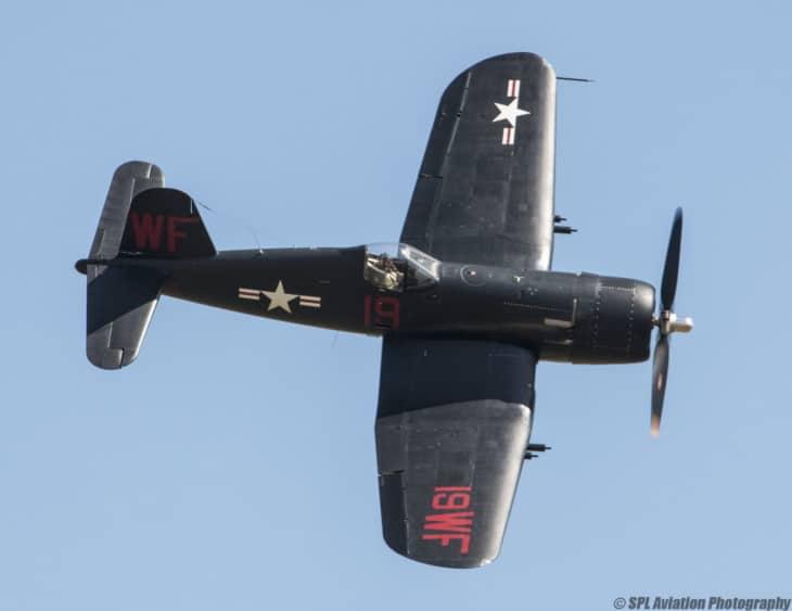 Vought Corsair F4U 5NL 124541
