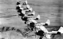 Vought SBU Corsair in formation.