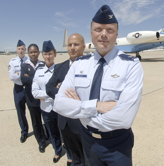 89th Airlift Wing Pilots and Air Force One
