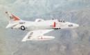 A U.S. Navy Douglas A 4E Skyhawk from Attack Squadron VA 164.