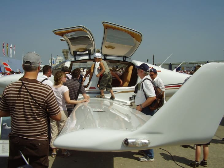 Diamond DA50 at ILA 2008 .