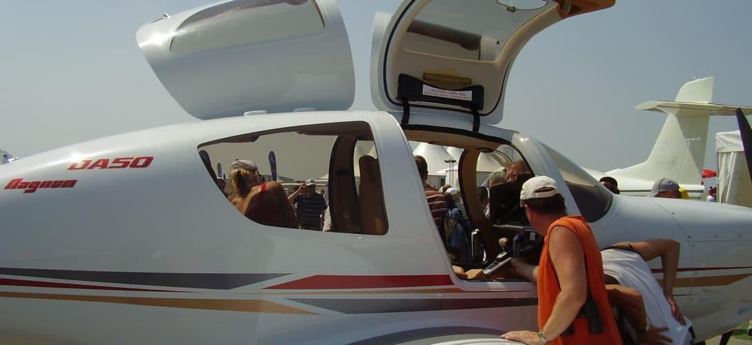 Diamond DA50 at ILA 2008