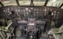 Fairchild C 82 Packet Cockpit