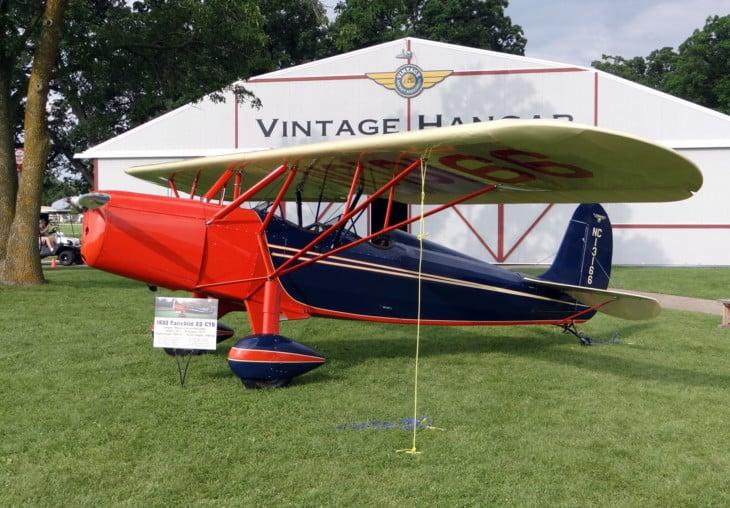 Fairchild 22 NC13166