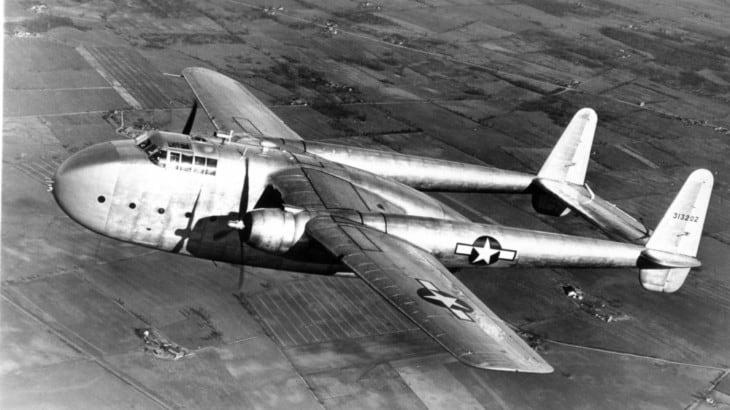 Fairchild XC 82 Packet