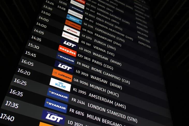 Flight information display