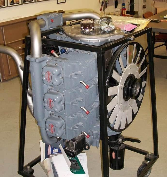 Franklin O 3356AC Aircraft Engine