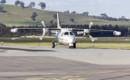 Jupiter Aviation VH DTV Mitsubishi MU 2B 20 taxiing.