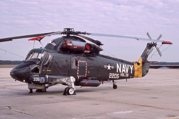 Kaman SH 2F Seasprite US Navy