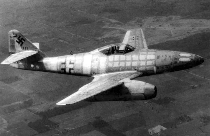 Messerschmitt Me 262 the worlds first jet fighter.