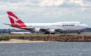 Qantas Boeing 747 400ER VH OEH