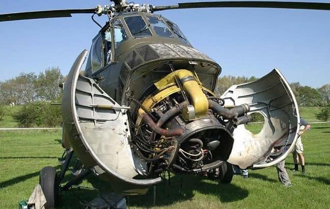 Sikorsky S 58 Engine