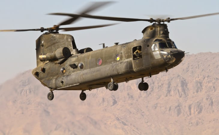 US Army Boeing Chinook