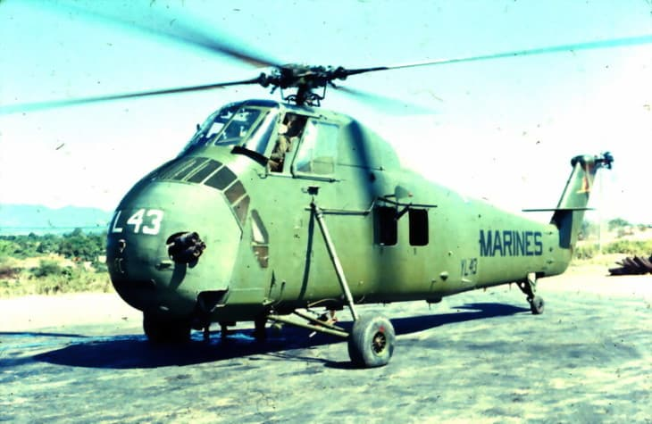 US Marine Corps Sikorsky UH 34D Seahorse