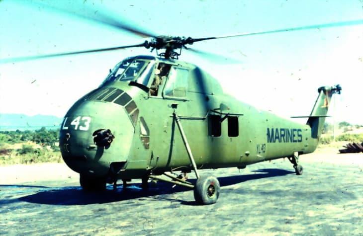 US Marine Corps Sikorsky UH 34D Seahorse