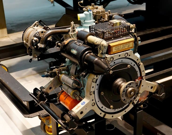 Wankel RC2 60 Rotary Engine
