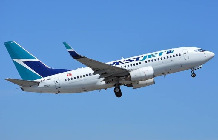WestJet Boeing 737 700 C FIWS