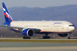 Aeroflot Russian Airlines Boeing 777 300