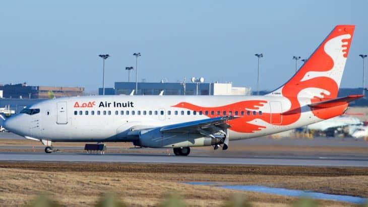 Air Inuit Boeing 737 200