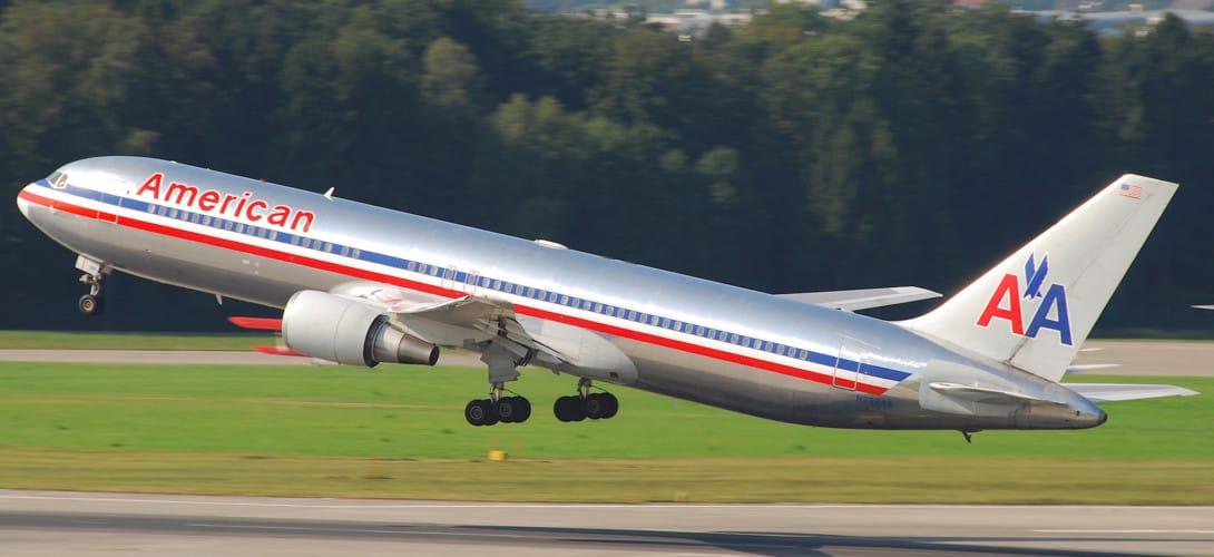 American Airlines Boeing 767 300
