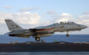 An F 14B Tomcat assigned to the Swordsmen of Fighter Squadron Three Two VF 32